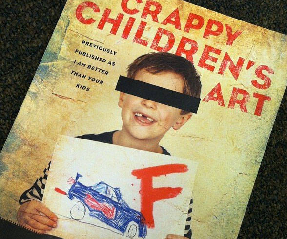 Crappy Children's Art Book - http://coolthings.us