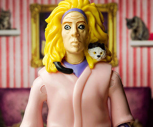 Crazy Cat Lady Action Figure Set - http://coolthings.us