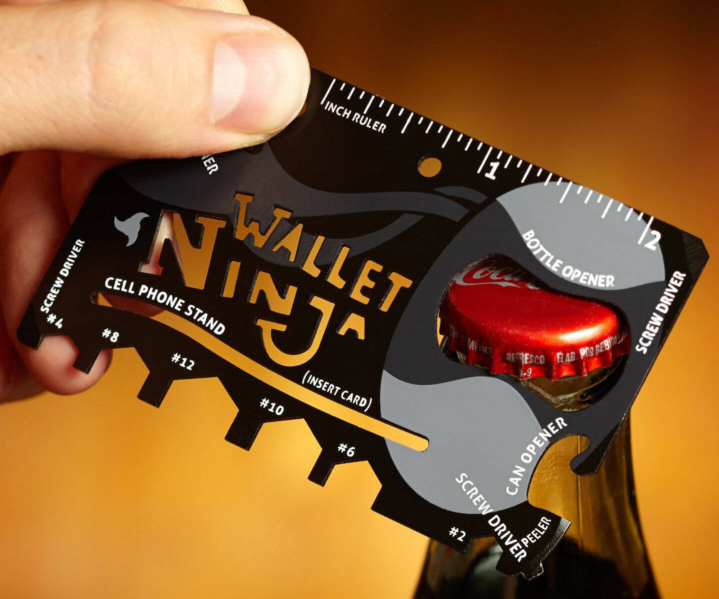 Credit Card Sized Multi Tool - http://coolthings.us