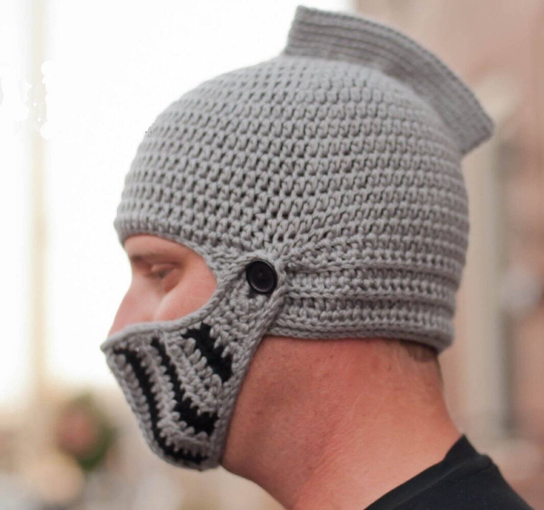 Crochet Knight Hat Beanie - http://coolthings.us