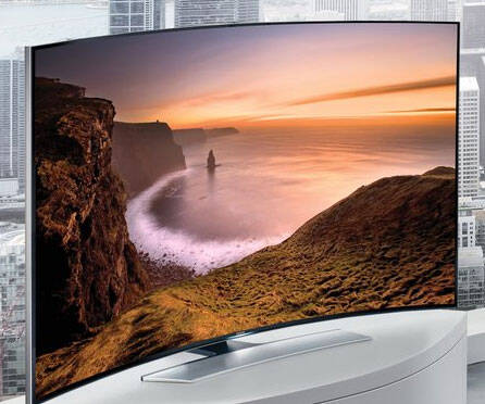 Curved 4K Ultra HD LED TV
