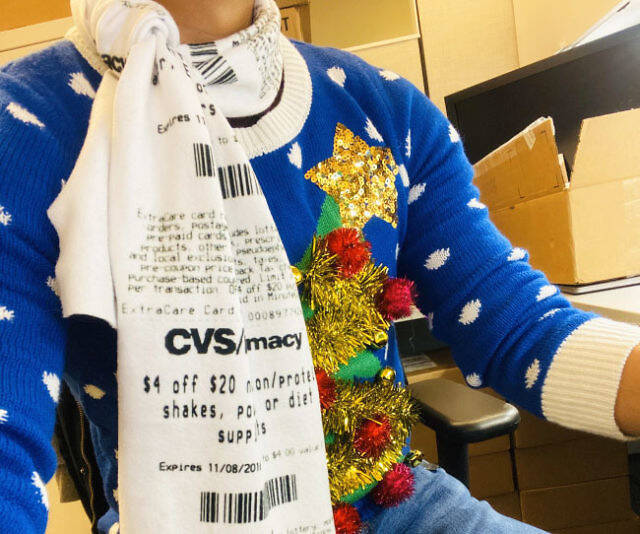 CVS Receipt Scarf - coolthings.us