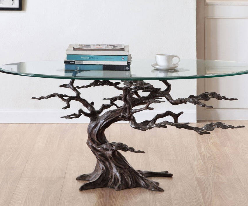 Cypress Tree Coffee Table - http://coolthings.us