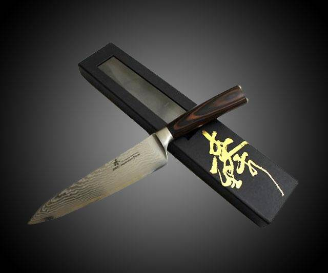 Damascus Dragon Gyuto Chef Knife - http://coolthings.us