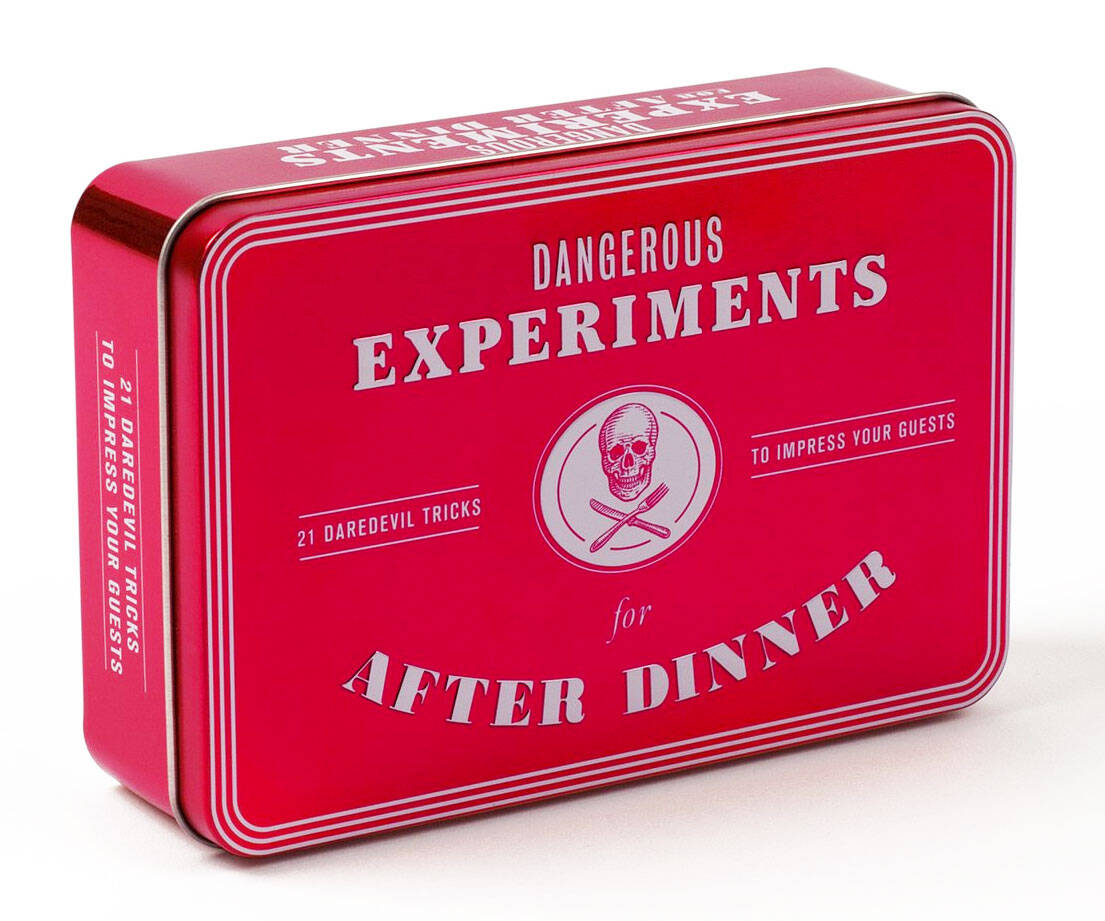 Dangerous Experiments For After Dinner - http://coolthings.us
