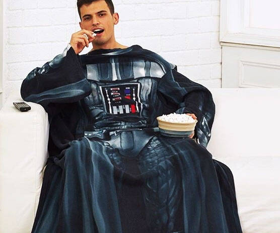Darth Vader Sleeved Blanket