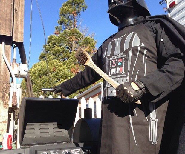 Star Wars Darth Vader Apron - http://coolthings.us