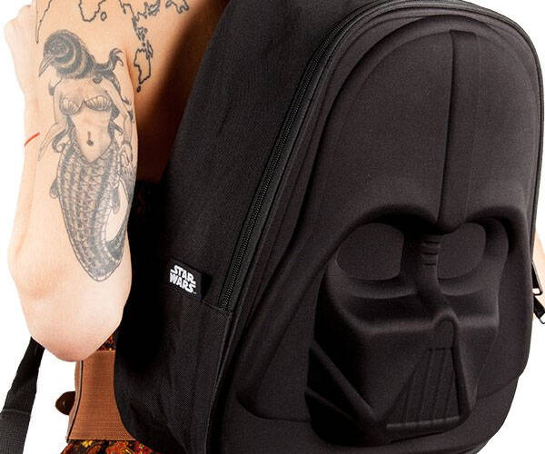 Darth Vader 3D Molded Backpack - http://coolthings.us