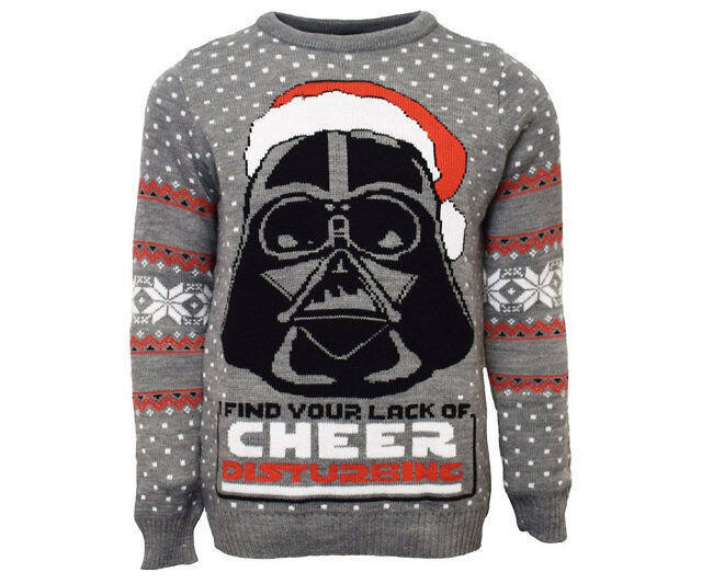 Darth Vader Ugly Christmas Sweater - http://coolthings.us