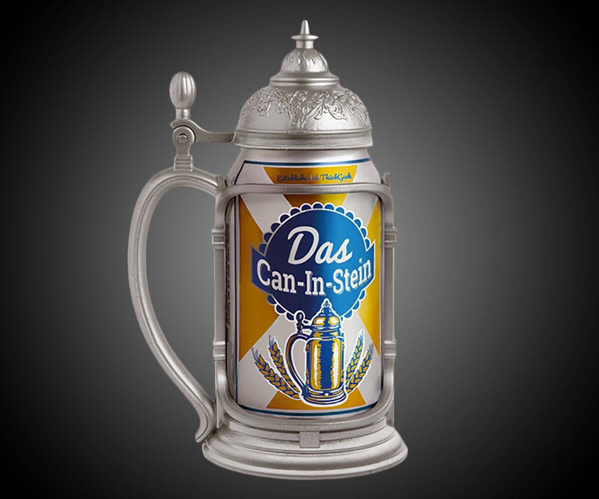 Das Can-in-Stein Beer Holder - http://coolthings.us