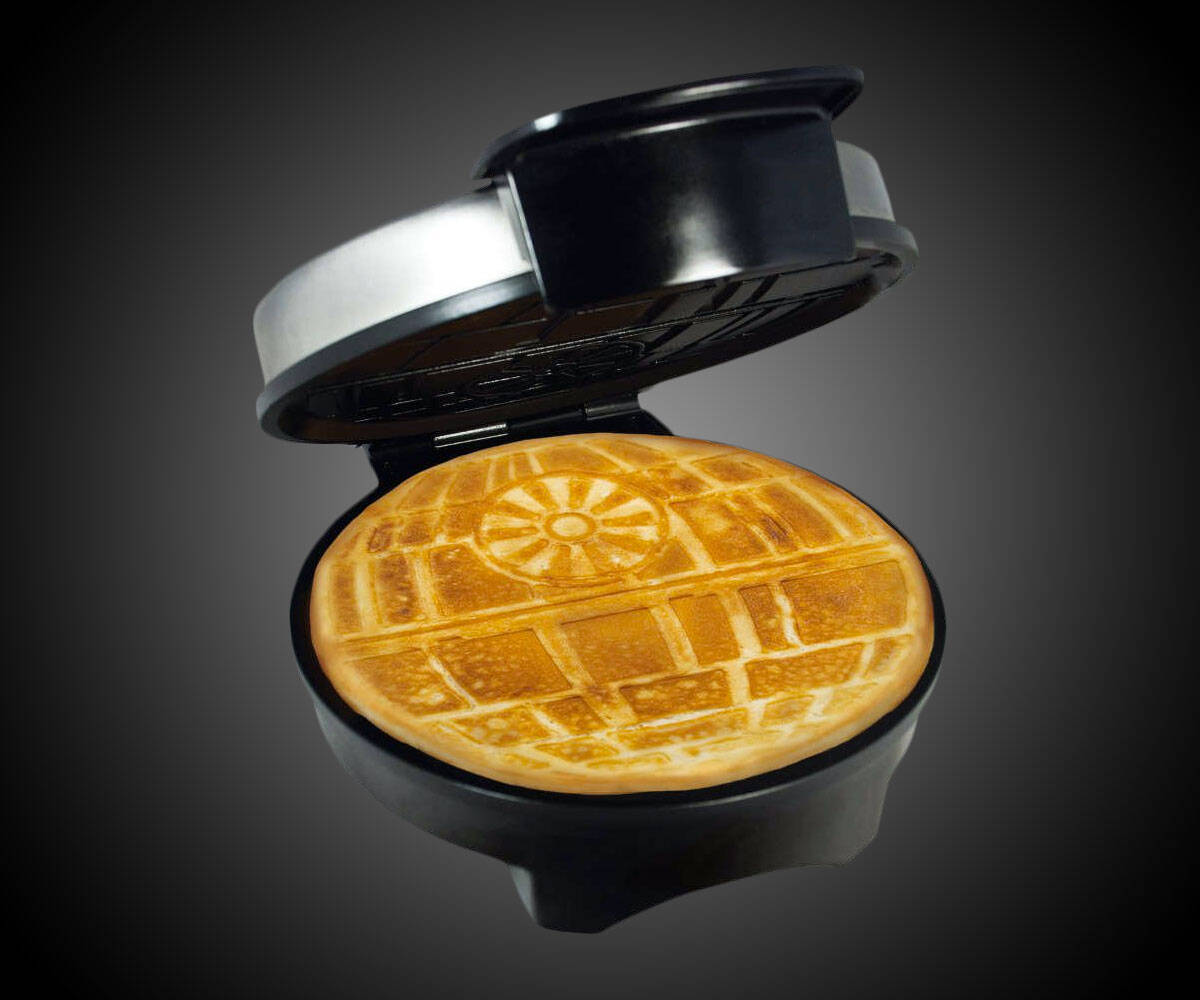 Death Star Waffle Iron - http://coolthings.us