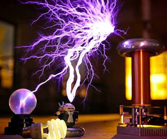 Musical Tesla Coil Kit - http://coolthings.us