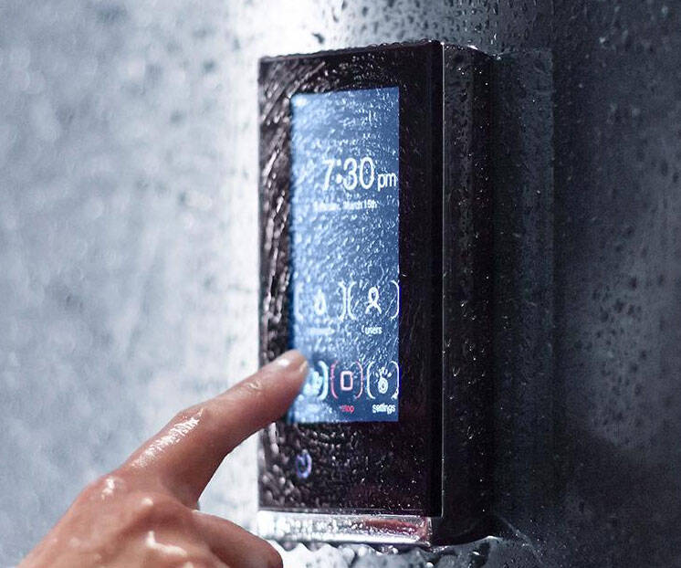 Kohler Digital Shower Interface - http://coolthings.us