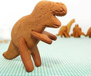 3D Dinosaur Cookie Cutters - http://coolthings.us