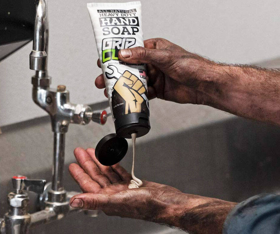 Dirt-Infused Heavy Duty Hand Soap