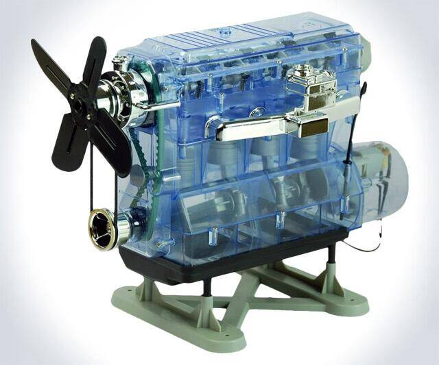DIY Internal Combustion Engine - http://coolthings.us