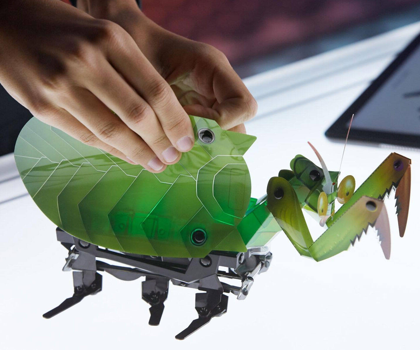 DIY Robot Critters - http://coolthings.us