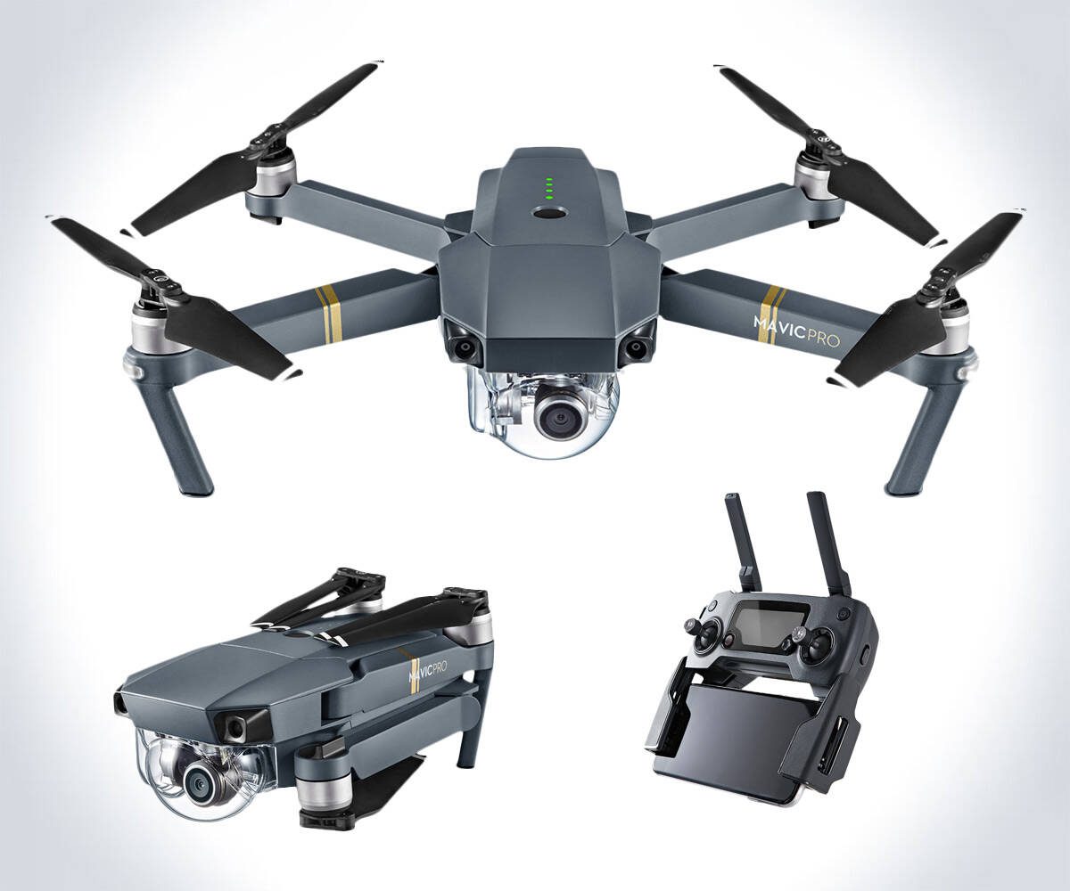 DJI Mavic Pro Foldable Drone - http://coolthings.us