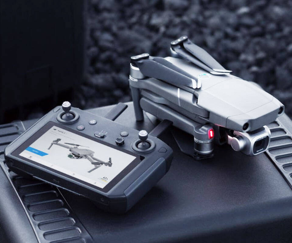 DJI Smart Drone Controller - coolthings.us