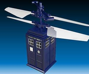 Doctor Who R/C Flying TARDIS - http://coolthings.us