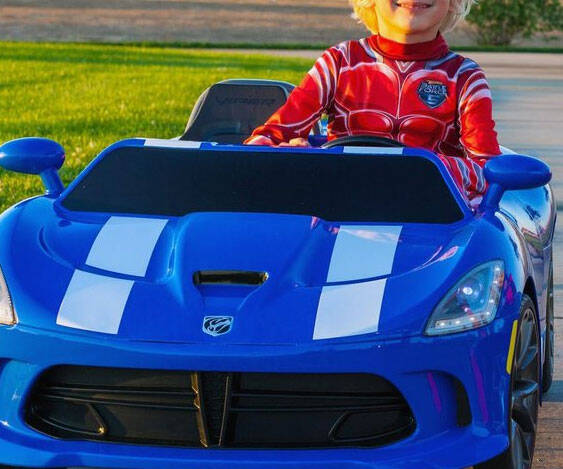 Kid's Dodge Viper - http://coolthings.us