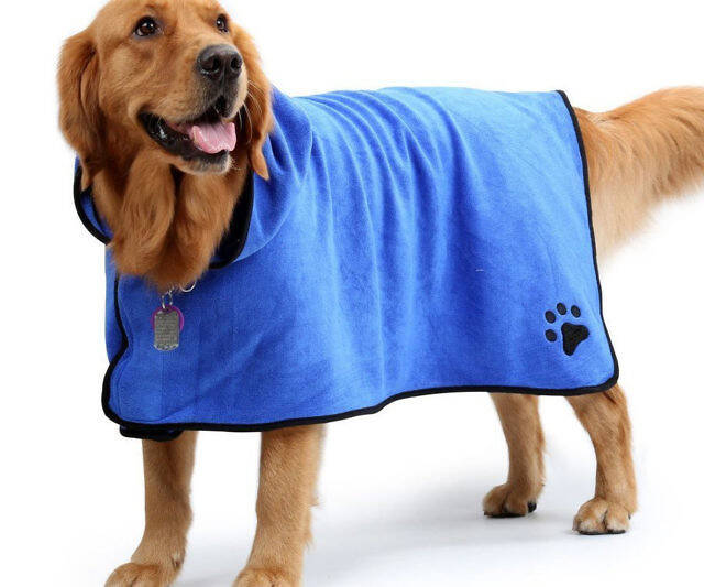 Dog Bathrobe - http://coolthings.us