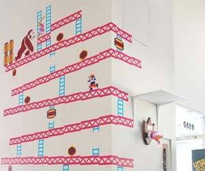 Donkey Kong Wall Sticker - http://coolthings.us