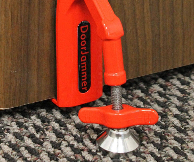 Portable Door Jammer - http://coolthings.us