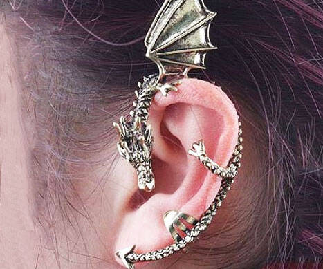Dragon Wrap Earring - http://coolthings.us