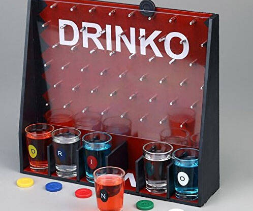 DRINKO Shot Glass Drinking Game - http://coolthings.us