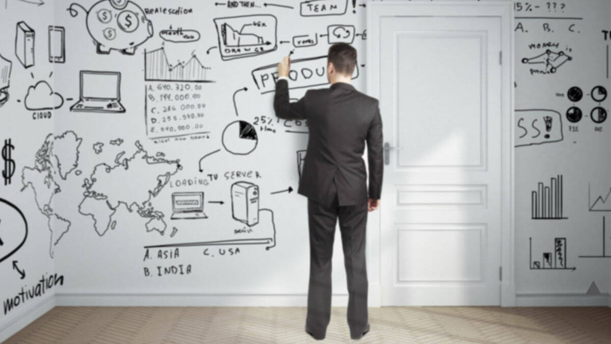 Dry Erase Whiteboard Wall Paint - http://coolthings.us