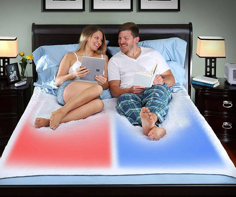 Dual Temperature Control Mattress Pad - http://coolthings.us