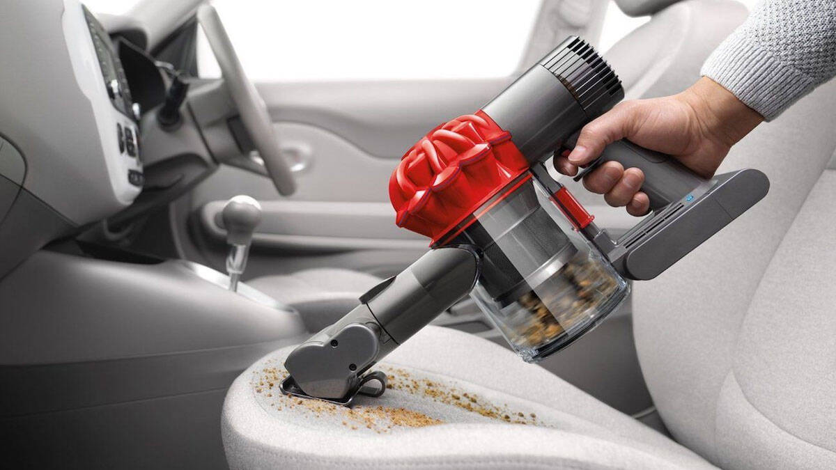 Dyson V6 Mattress & Car Seat Vacuum - http://coolthings.us