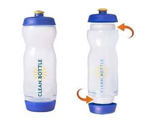 Easy Clean Water Bottle - http://coolthings.us