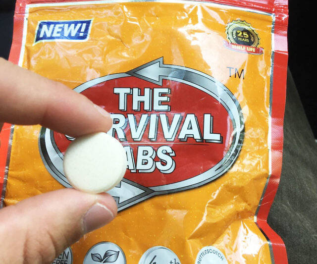 Edible Survival Tabs