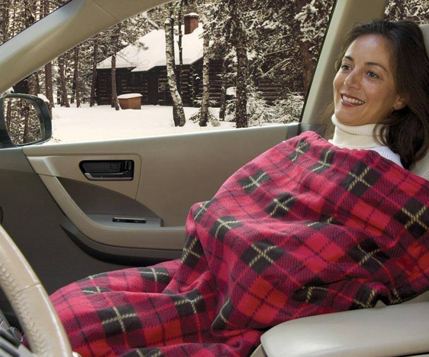 Electric Heated Travel Blanket - http://coolthings.us