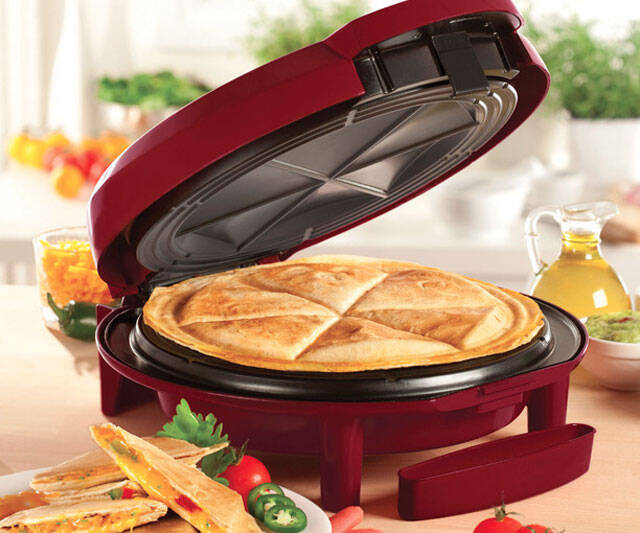Electric Quesadilla Maker - coolthings.us