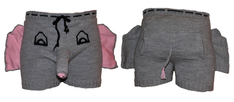 Elephant Underwear - http://coolthings.us