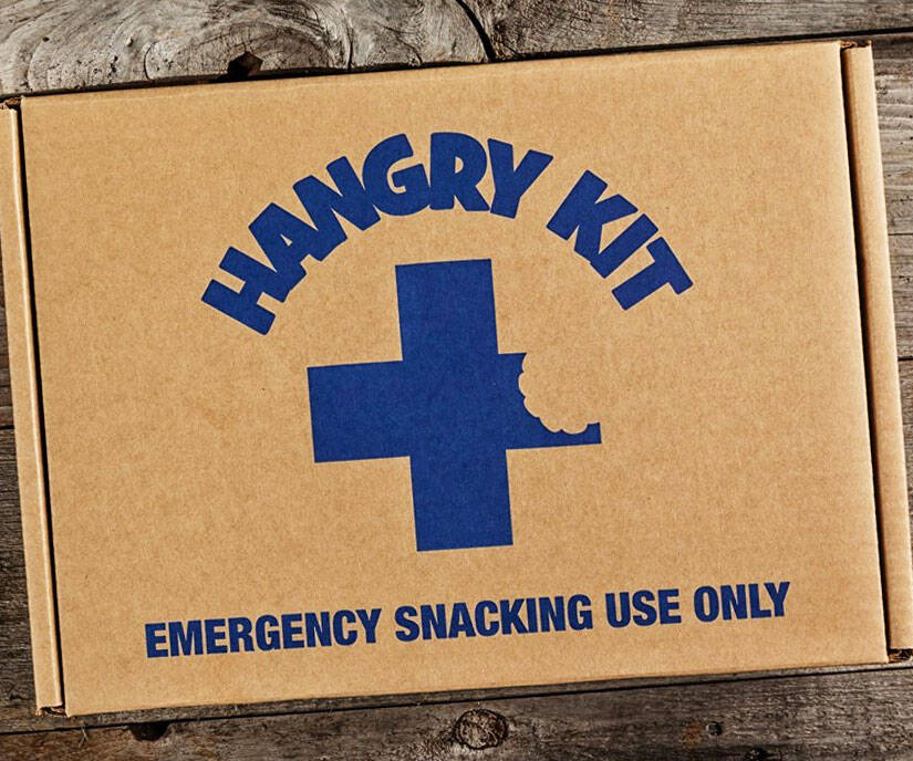 Emergency Snack Kit - http://coolthings.us