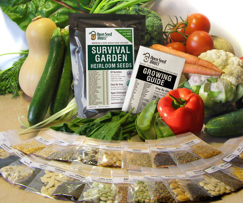 Emergency Survival Seed Pack - http://coolthings.us