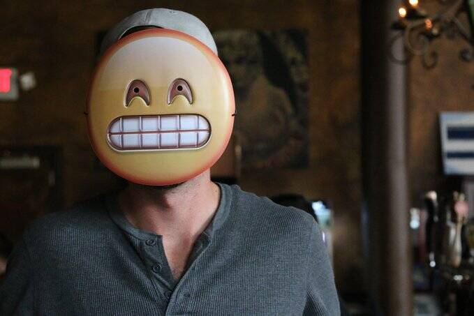Emoji Masks - http://coolthings.us