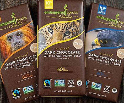Endangered Species Chocolate - http://coolthings.us