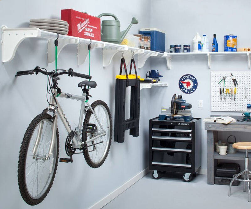 Expandable Garage Shelves - http://coolthings.us