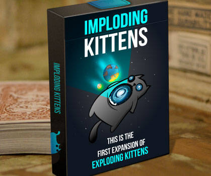 Imploding Kittens Expansion Pack - http://coolthings.us