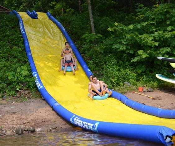 Extreme Turbo Chute Water Slide - http://coolthings.us