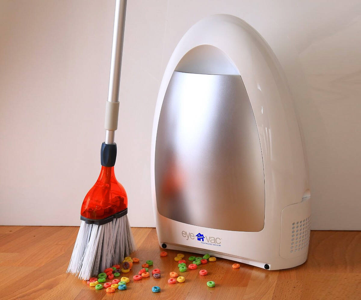 Touchless Vacuum - http://coolthings.us