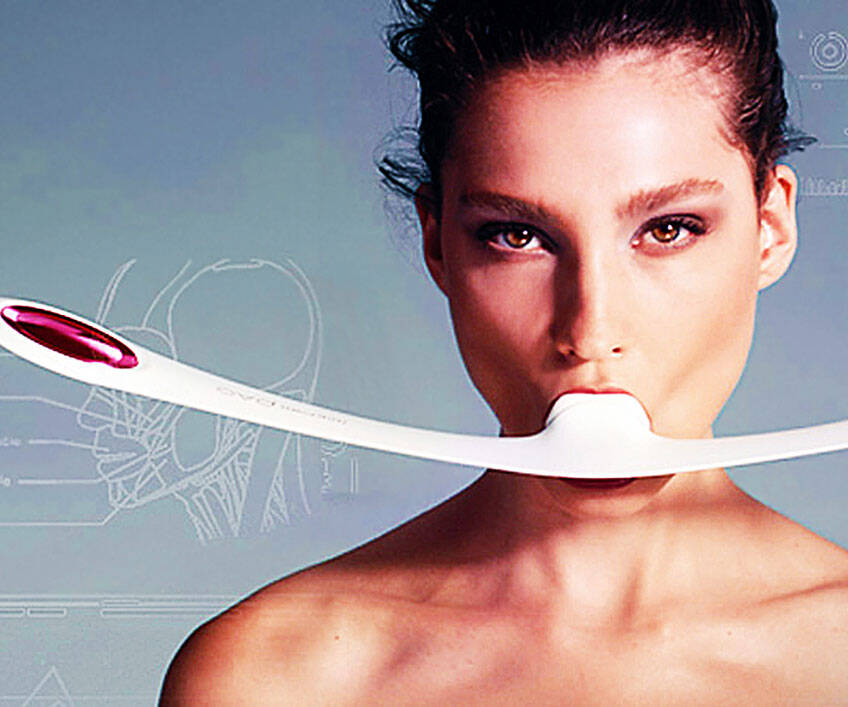 Facial Fitness Device - http://coolthings.us