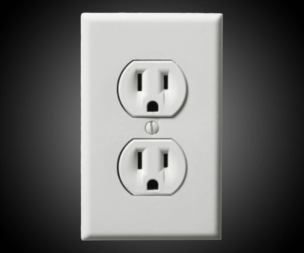 Fake Wall Outlet Sticker Prank - http://coolthings.us