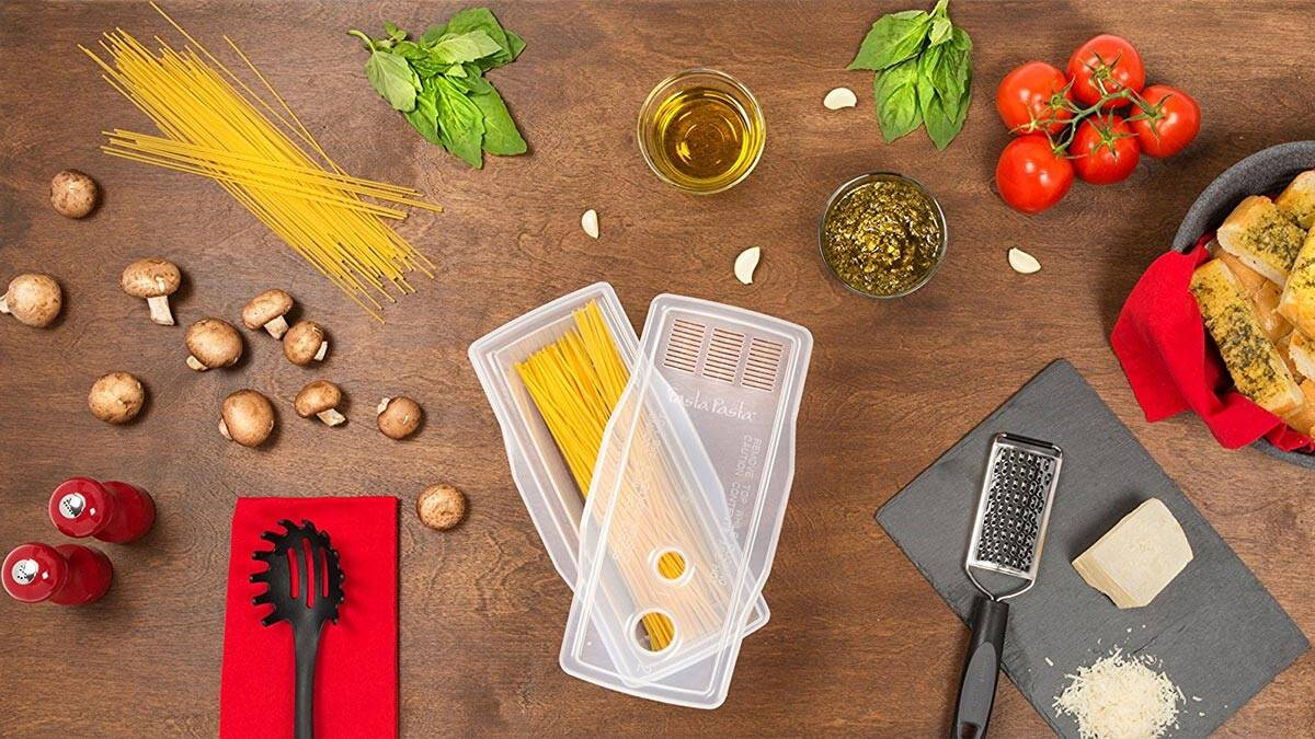 Fasta Pasta Microwave Pasta Cooker - http://coolthings.us