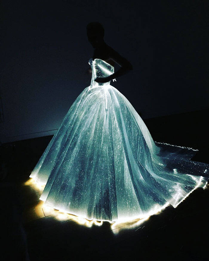 Fiber Optic Dress